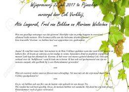 Wijnproeverij 22-juli 2017 te Pijnacker