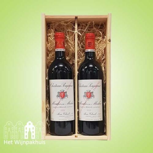 Duo Chateau Poujeaux - Het Wijnpakhuis