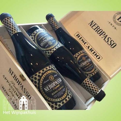Neropasso kist - Zes flessen voor € 49,95