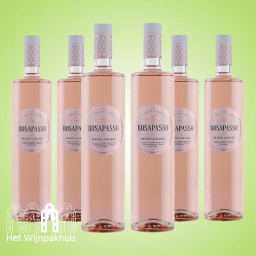 Rosapasso Pinot Nero Rosato - Zes flessen voor € 49,95